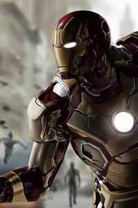 240x320 Iron Man In Avengers Age Of Ultron