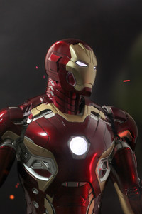 640x1136 Iron Man Mark 45