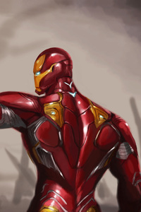 Iron Man Mark 50 Suit Avengers Infinity War