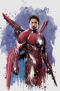640x1136 Iron Man New Suit For Avengers Infinity War