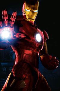 640x960 Iron Man Superhero