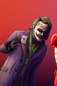 Iron Man Superman Joker Art