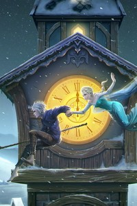 1440x2960 Jack Frost And Elsa