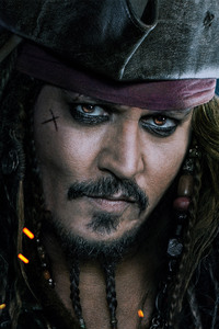 Jack Sparrow Pirates Of The Caribbean Dead Men Tell No Tales 4k