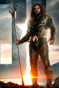 Jason Momoa As AQUAMAN In Justice League
