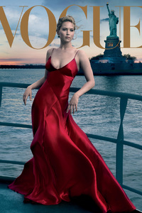 Jennifer Lawrence 2017 Vogue