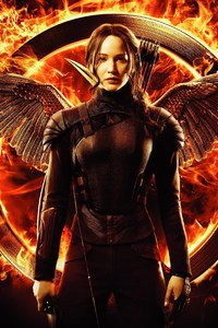 Jennifer Lawrence In Hunger Games