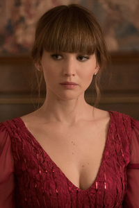 Jennifer Lawrence In Red Sparrow Movie 4k