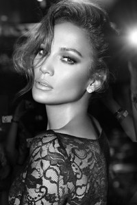 Jennifer Lopez Monochrome