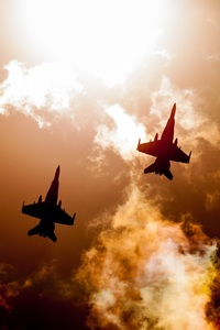 1440x2960 Jet Fighters