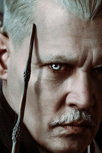 Johnny Depp As Gellert Grindelwald In Fantastic Beasts The Crimes Of Grindlewald