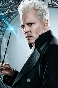 Johnny Depp As Gellert Grindelwald In Fantastic Beasts The Crimes Of Grindlewald 2018