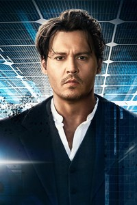 640x1136 Johnny Depp In Transcendence