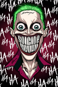 1440x2960 Joker Damaged 5k