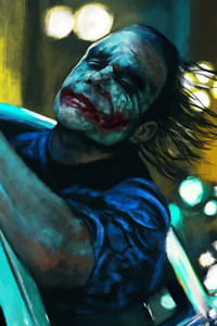 540x960 Joker Finally Free Artwork