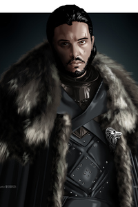 360x640 Jon Snow Game Of Thrones Digital Art