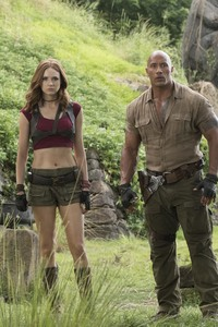 480x800 Jumanji Welcome To The Jungle Cast 5k