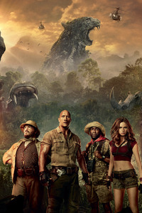 Jumanji Welcome To The Jungle Movie