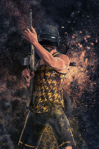 1125x2436 Jungle Dude PUBG