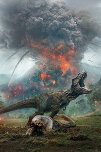 2160x3840 Jurassic World Fallen Kingdom 10k