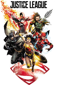 240x320 Justice League 2017 Comic Art