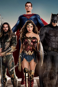 360x640 Justice League 2017 Movie Poster