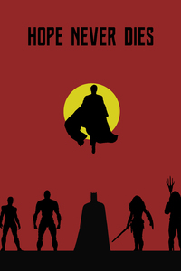 240x400 Justice League Hope Never Dies