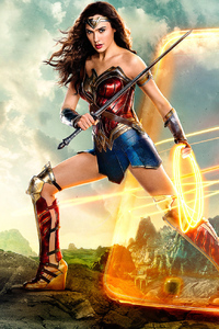 480x800 Justice League Wonder Woman 2018