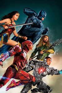 Justice League Wonder Woman Batman Aquaman Flash 4k