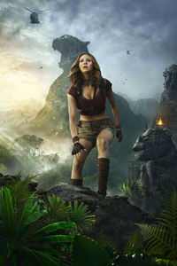 Karen Gillan As Ruby Roundhouse Jumanji Welcome To The Jungle