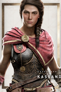1080x2280 Kassandra Assassins Creed Odyssey 4k