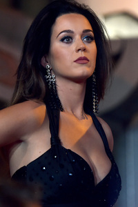 Katy Perry Black Hairs 2017