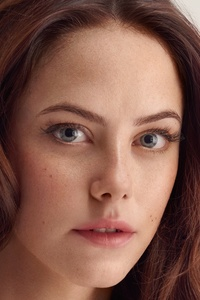 320x480 Kaya Scodelario Face Close Up 4k