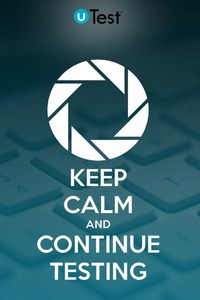640x960 Keep Calm And Continue Testing