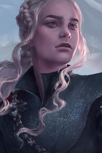 720x1280 Khaleesi Artwork