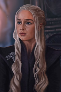 Khaleesi Game Of Thrones 5k Artwork