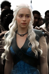 720x1280 Khaleesi Game Of Thrones 8k