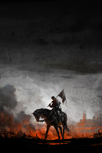 240x400 Kingdom Come Deliverance Game Artwork