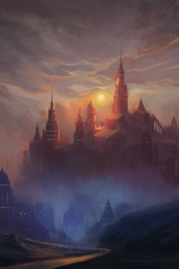 320x568 Kings Castle Painting