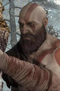 240x320 Kratos God Of War 4