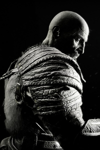 640x1136 Kratos In God Of War 4K
