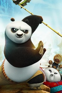 240x320 Kung Fu Panda 3 Movie