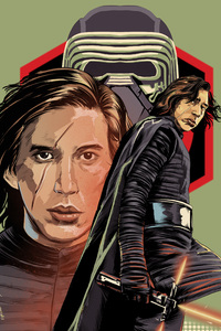 Kylo In Star Wars The Last Jedi Digital Art