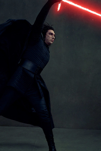 240x320 Kylo Ren In Star Wars The Last Jedi 4k Vanity Fair