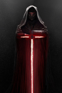 240x320 Kylo Ren Lightsaber Star Wars