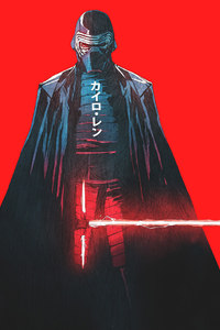 480x800 Kylo Ren Star Wars Artwork
