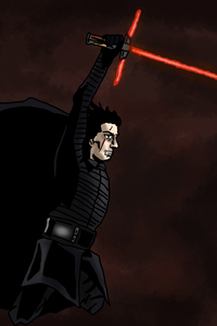 240x320 Kylo Ren Star Wars The Last Jedi 5k Artwork