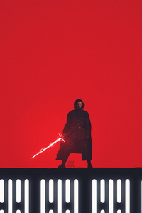 240x320 Kylo Ren Star Wars The Last Jedi Fan Art 5k
