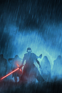1280x2120 Kylo Ren With His Knights