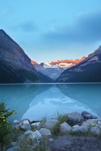 Lake Louise Canada Beautiful View